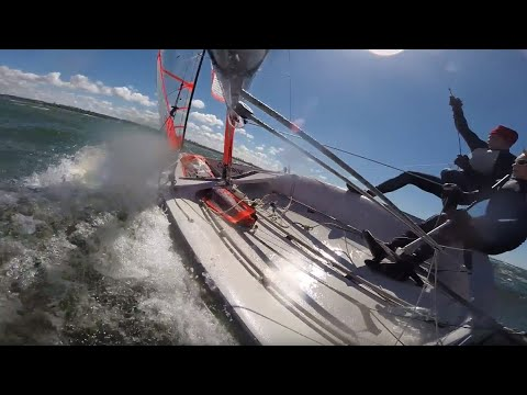 Cruising with the Niners | 49er & 29er Sailing - YouTube