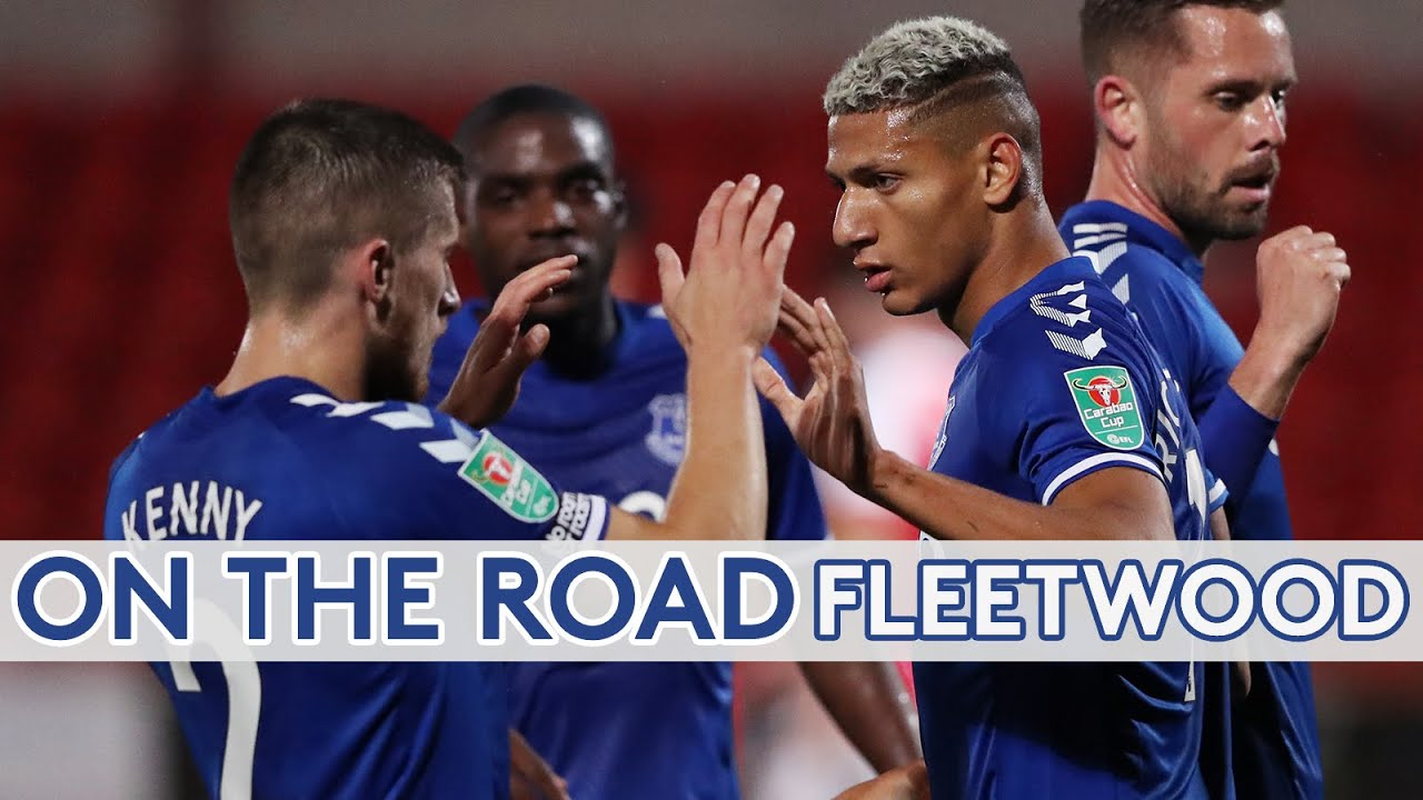 Download ON THE ROAD: FLEETWOOD TOWN | UNSEEN FOOTAGE FROM HIGHBURY ASEVERTON PROGRESS IN THE CARABAO CUP