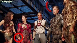 "Justice League - The Real Behaviours of the Cast Revealed - ""Heart of Justice League\"" Featurette"