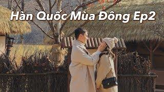 Du lịch Hàn Quốc mùa đông Ep2 | Running man Studio | Poo Poo Land | Vlog 62