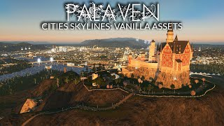 The BEST Way To Use The Castle Monument In Cities Skylines! | Palaven