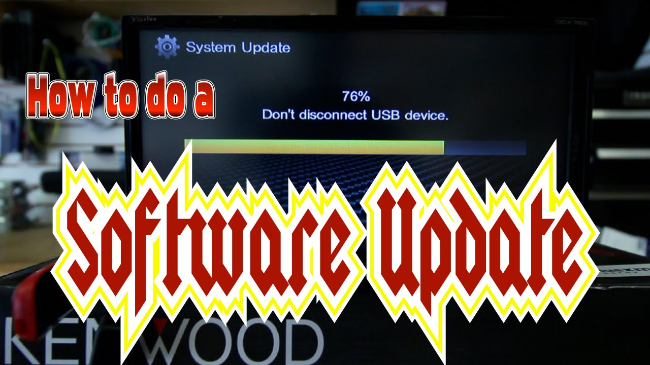 how to do a software up date on your kenwood multimedia radio [ 1280 x 720 Pixel ]