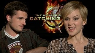 Jennifer Lawrence & Josh Hutcherson's Worst Songs, Gif Faces & Mockingjay Whistle