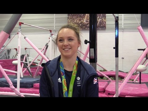 Interview With Bronze-winning Gymnast Amy Tinkler - Rio 2016