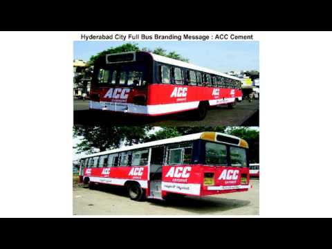 Hyderabad City Bus Branding