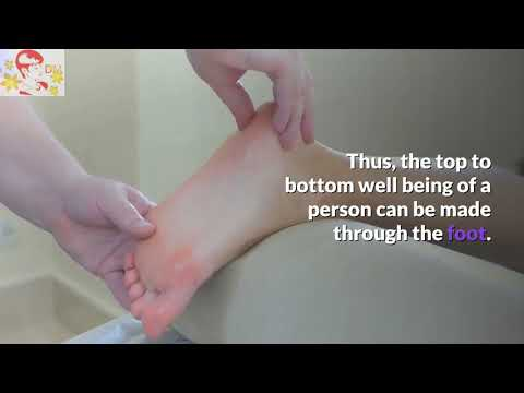 Foot Massage Therapy - Foot Reflexology - How To Give A Deep Tissue Foot Massage Technique