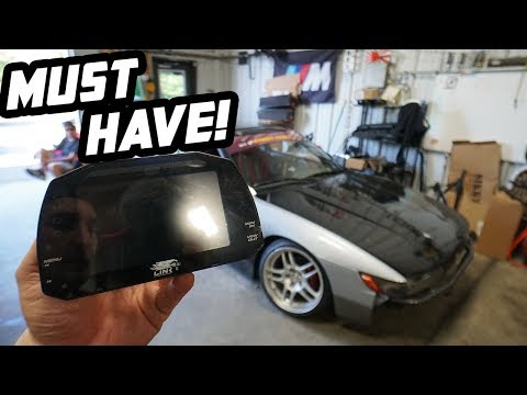 S13 Gets The SICKEST Digital Dash On The Market!!