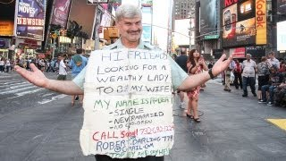 World's Loneliest Man Wanders New York Streets For A Bride