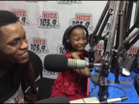 Emmanuella of Mark Angel live on Hitz Fm