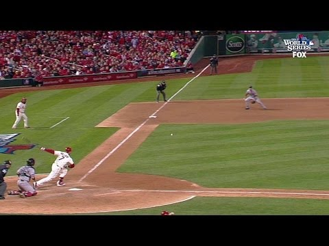 Holliday rips two-run double for 4-2 lead
