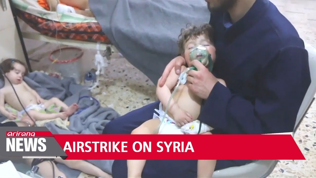 Download Syria conflict: Missile strike hits Syrian airfield, state media report