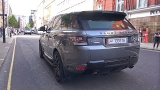 CRAZY LOUD Land Rover Range Rover Sport 5.0 V8 Supercharged!