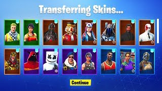 *NEW* How To SEND SKINS in Fortnite! (Fortnite Account Merging System)