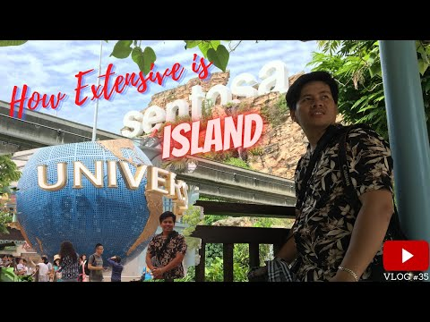 How Extensive Is The Sentosa Island Of Singapore? | The Silent Observer