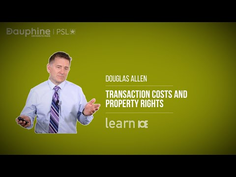 ALLEN / Transaction Costs and Property Rights