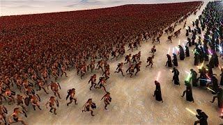 1000 Jedi vs 25000 Spartans Ultimate Epic Simulator
