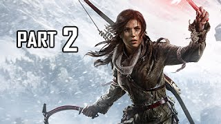 Rise of the Tomb Raider Walkthrough Part 2 - Voice of God Tomb (Let
