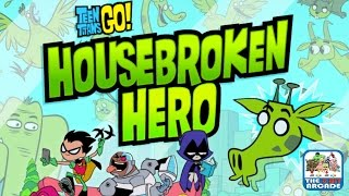 Teen Titans Go! Housebroken Hero - Beast Boy Back In The Tower (Cartoon Network Games)