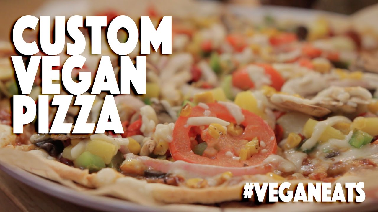 Build Your Own Vegan Pizza Mod Pizza