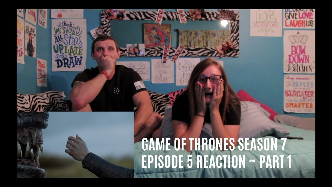 game of thrones s7 e5 reaction part 1 youtube. Black Bedroom Furniture Sets. Home Design Ideas