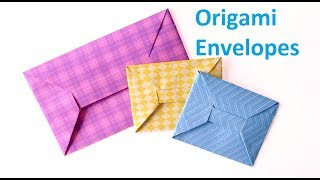Origami Envelopes:How To Make Your Own Beautiful Origami Envelope-Easy Step by Step