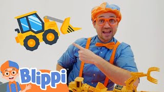 Blippi Learns What Weighs More | Science Videos For Kids WIth Blippi