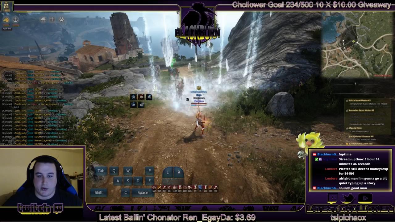Black Desert Online: Wizard Pre-awakened and Awakened Skill Rotations