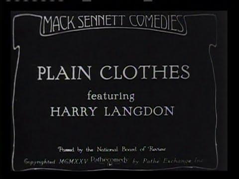 1925 - Plain Clothes (Rótulos en Castellano)