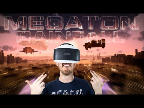 VR SUPERMAN SIMULATOR! | Megaton Rainfall - Playstation VR gameplay