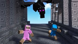 MY EX WIFE IS CHASING US IN MINECRAFT!!