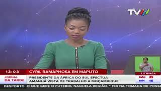 Cyril Ramaphosa em Maputo: Presidente da África do Sul efectua amanhã vista de trabalho a Moçambique