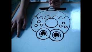How to draw moshling Oddie #88 from Moshi Monsters