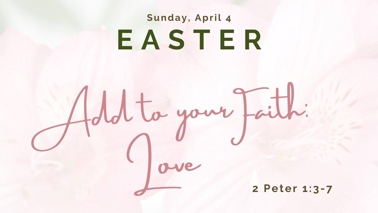 St Andrew's Community UMC Livestream Easter Service 10:30am