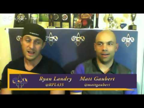The Matt Ryan Show Episode 65 - Saints Panthers, LSU Basketball Post Game, LSU Football Bowl Scen...