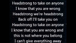 Repeat youtube video Headstrong-Trapt LYRICS