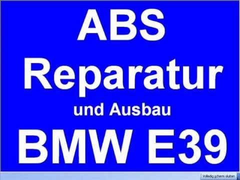 abs ausbau reparatur bmw e39 520d 525d 530d 523i 728i. Black Bedroom Furniture Sets. Home Design Ideas
