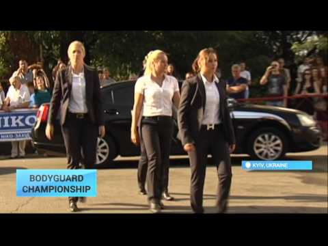 International Bodyguard Championship: Bodyguards showcase their skills at annual Kyiv competition