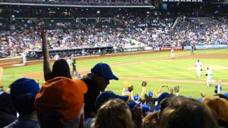 2012 New York Mets season documentary Video #6, New York Mets vs San Diego Padres