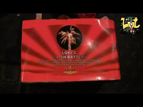 Loki C 24 Shots Batterij Original Fireworks