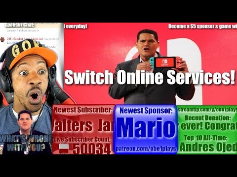 Nintendo Switch Online Services Discussed By Reggie! Should Be HUGE!