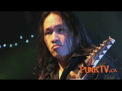 Dragonforce Interview with Sam Totman in support of Ultra Beatdown with PunkTV.ca - Part 2