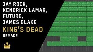 Making a Beat: Jay Rock, Kendrick Lamar, Future & James Blake – King's Dead (Remake)