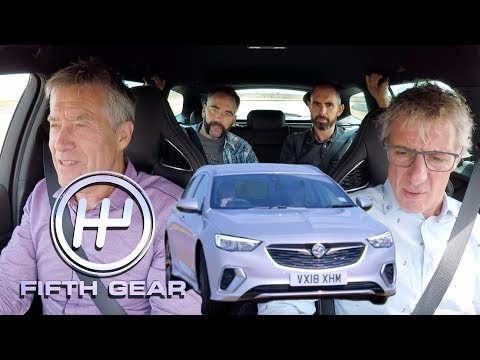 Vauxhall Insignia GSi Sports Tourer Team Test | Fifth Gear