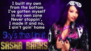 Updated lyric video for sasha banks' wwe theme song - sky's the limit, by cfo$.like, comment and subscribe more!#sashabanks #theboss #skysthelimit