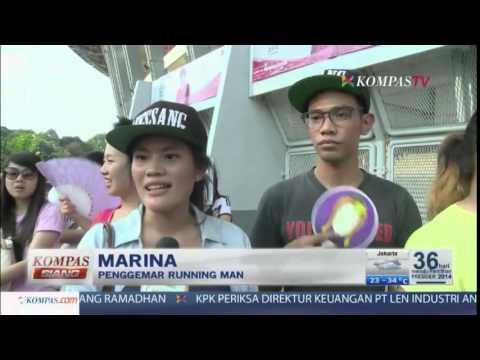 Running Man di Jakarta-Kompas Siang 3 Juni 2014