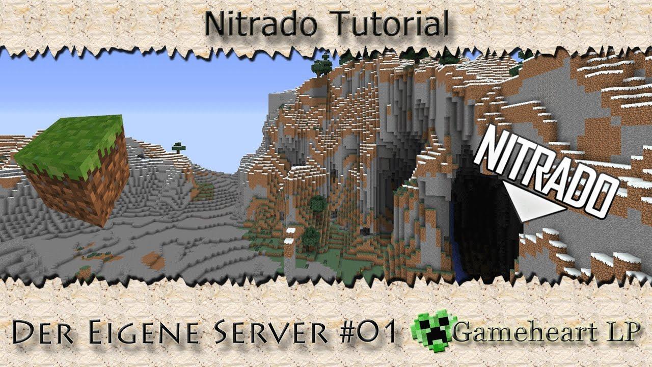Nitrado Tutorial Der Eigene Minecraft Server Den Server - Eigenen minecraft server erstellen nitrado