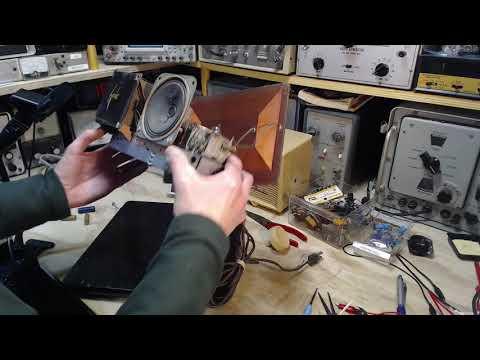 Sylvania Clock Radio Video #5 - Alternate Power Switch
