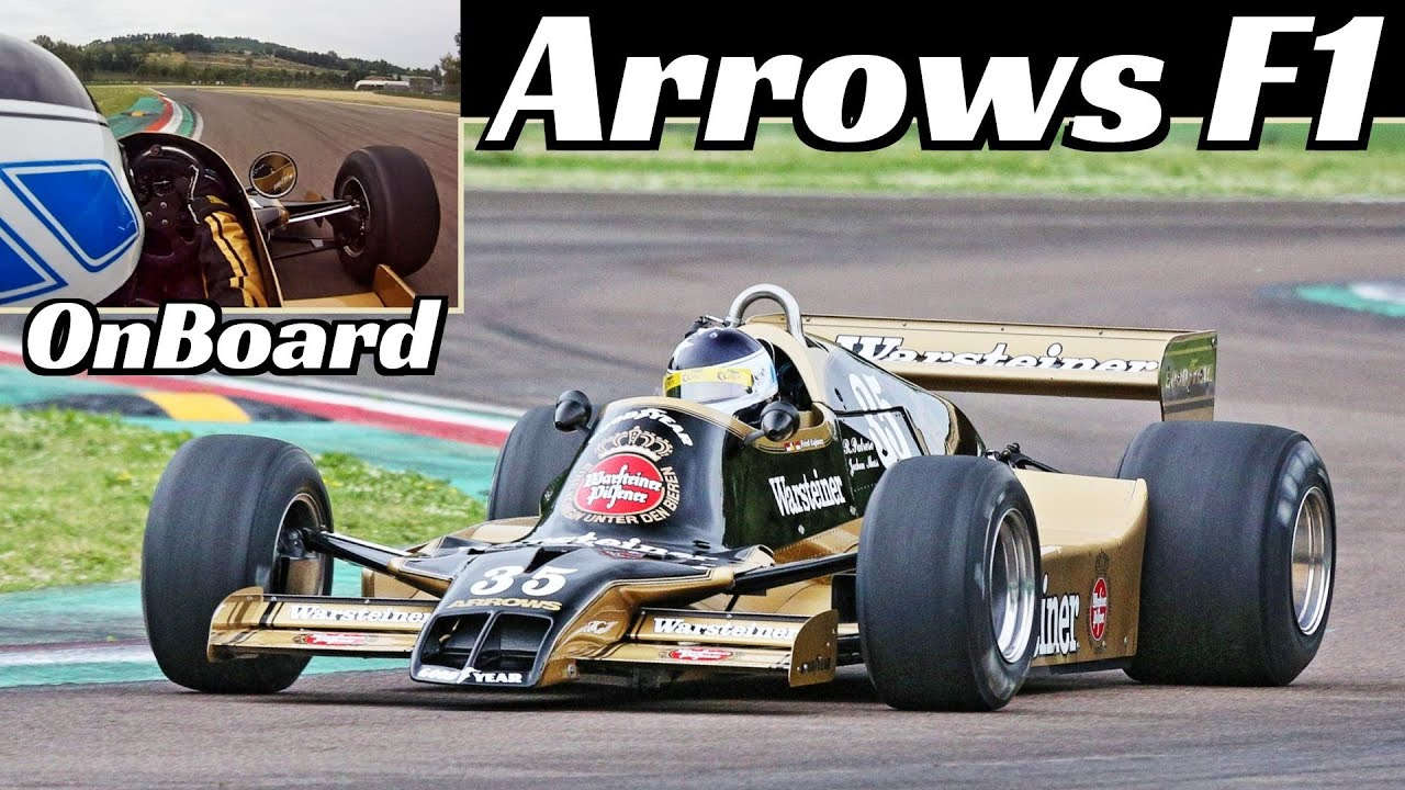 1979 Arrows A1B Formula One [F1] + Fred Lajoux Onboard - Historic Minardi Day at Imola Circuit