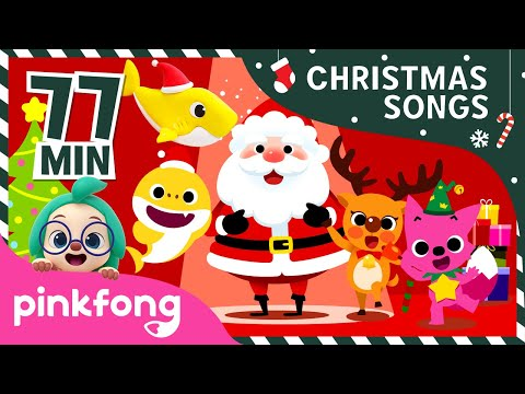 Christmas Songs | +Compilation | Best Christmas Songs | Pinkfong Songs for Children