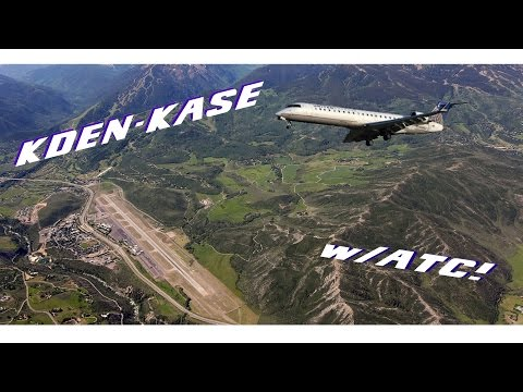 Denver to Aspen - Full Flight | SkyWest 5391 w/ ATC